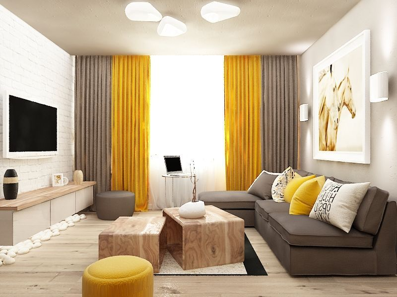 Цветовая гамма для интерьера дома